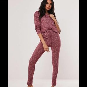 Missguided Lounge Set Joggers